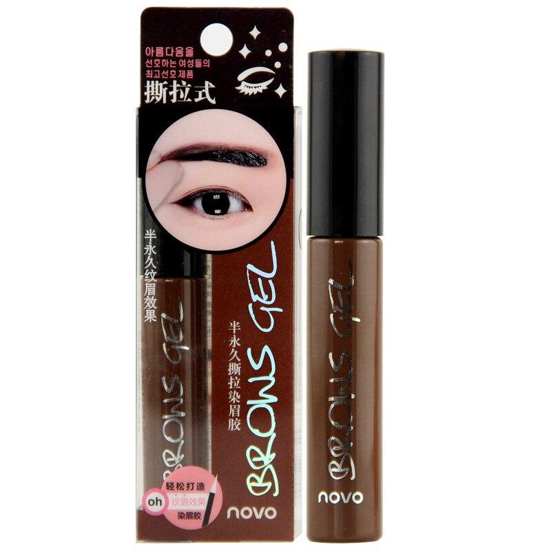 Makeup Eye Brow Penna Pen Tattoo Tint Ögonbryn Förstärkare - Smink - Foto 4