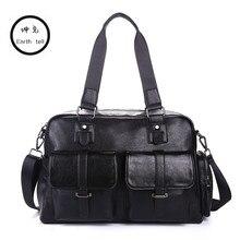 Fashion Men's Travel Bags High-capacity Brand luggage Waterproof suitcase duffel bag Large Capacity casual PU leather handbag