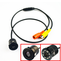 170 Degree Mini Car Rear View Camera Waterproof Auto Parking Assistance Reversing Backup HD CCD Image