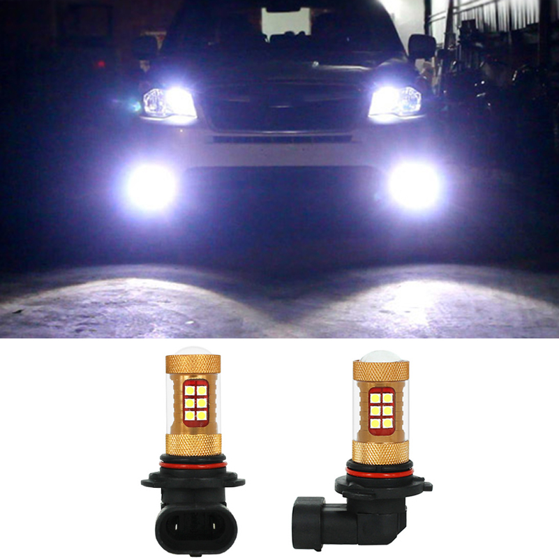 2x 56W 9006 HB4 For Samsung 3030 LED Chip Car DRL Fog Driving Lamp Light Bulbs For Subaru Forester Impreza 2013 2012 2011 2010 hot sale abs chromed front behind fog lamp cover 2pcs set car accessories for volkswagen vw tiguan 2010 2011 2012 2013
