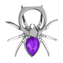 New spider Mobile Phone Finger Ring Holder Bracket Cute Accessories For