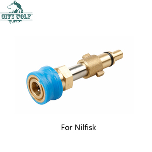 Image 4 - Adaptador de arruela de alta pressão, com g1/4, conexão rápida, para lavor, karcher, nfisk, bosch, parafuso preto e deck interscol