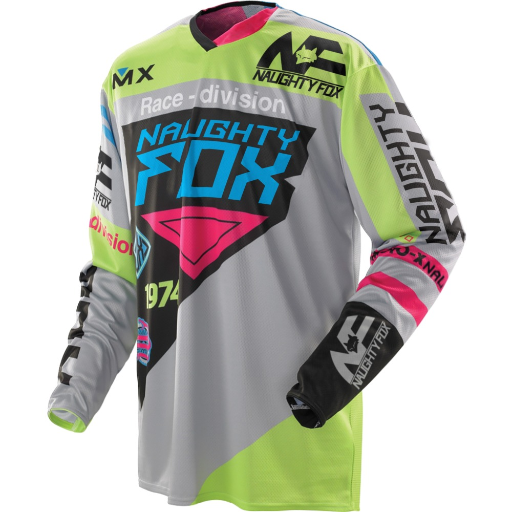 NEW  Fox race Riding Jersey T-shirts Men Motocross//MX//ATV//BMX//MTB Dirt Bike