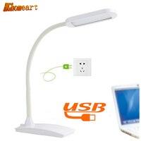 3 Modes Touch Table Lamp Usb Led Light Lamp Flexible Power Bank Led Energy Saving Lamp