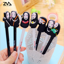4 pcs/ lot cartoon neutral pen creative stationery kawaii school Office supplies Papelaria Canetas Escolar