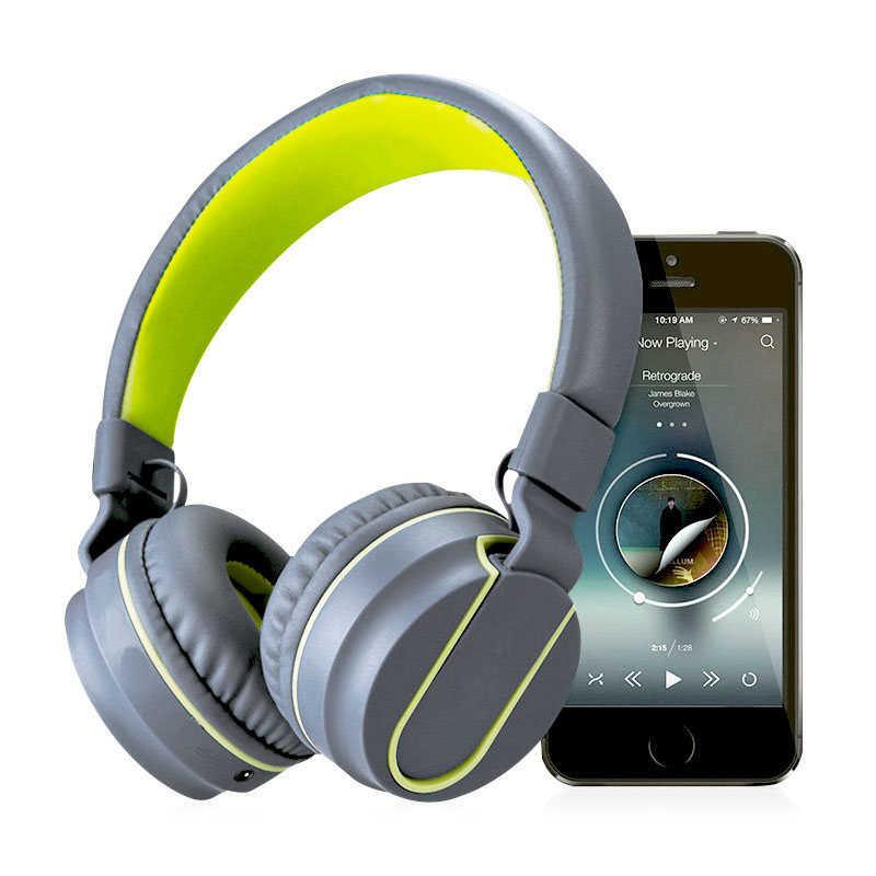 キッズガールズかわいいヘッドフォンとマイク重低音ヘッドフォンステレオ流行ヘッドセット Huawei 社ソニー携帯電話コンピュータ