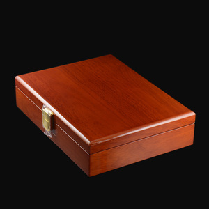 Image 4 - Savoyshi Luxe Manchetknopen Geschenkdoos Hoge Kwaliteit Geschilderd Houten Doos Authentieke Maat 240*180*55Mm Capaciteit Sieraden opbergdoos Set