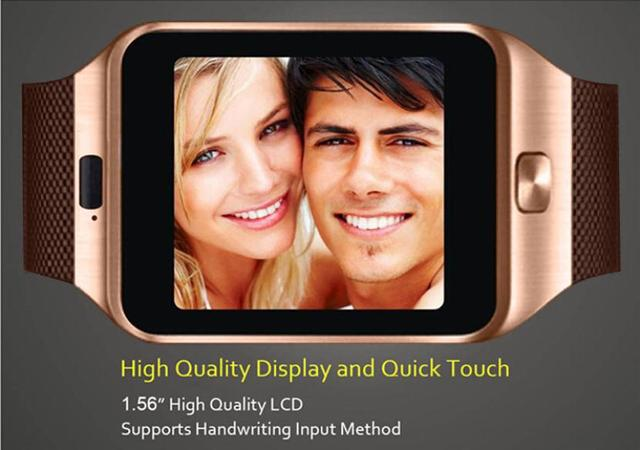 Waterproof Bluetooth Smart Watch DZ09 GSM Smartwatch For Android Phone GD DROPSHIP Feb 9-in