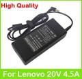 20 В 4.5A 90 Вт универсальный адаптер переменного тока для Lenovo IdeaPad V550 V560 V570 V580 Y450 Y460 Y470 Y471 Y480 Y485 Y490 Y530 зарядное устройство