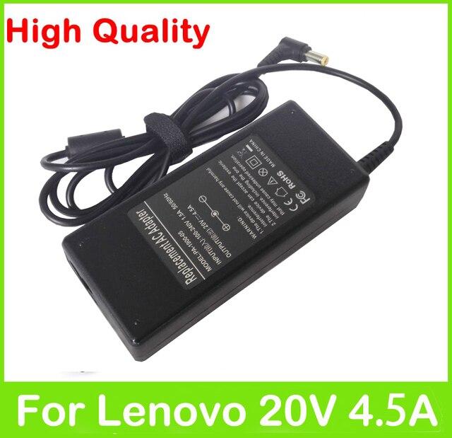 20V 4.5A 90W universal AC power adapter for Lenovo IdeaPad V550 V560 V570 V580 Y450 Y460 Y470 Y471 Y480 Y485 Y490 Y530 charger