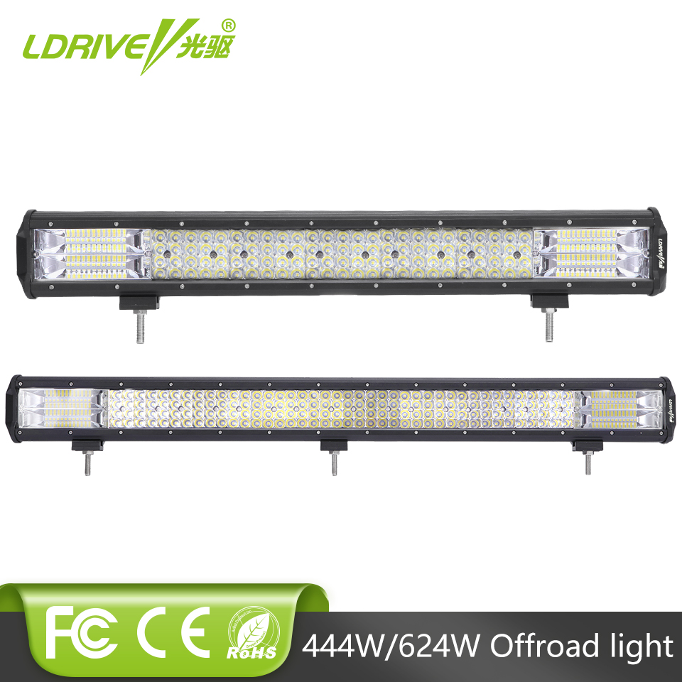 LDRIVE 31 OffRoad LED Light Bar Auto LED Work Light Bar for Jeep Wrangler Truck ATV UTV SUV Dodge Ram 4x4 Ford Lincoln Golf weisiji 1pcs tri row 252w led light bar with high intensity chips 17inch offroad work light for jeep ford truck ship suv atv utv
