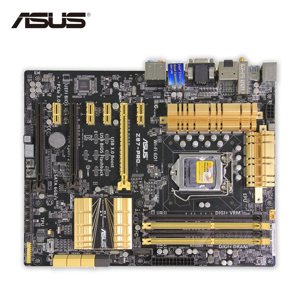 New asus h81m k motherboard cpu i3 i5 i7 lga1150 intel h81 ddr3 sata3 - Asus Z87 Pro Original Used Desktop Motherboard Intel Z87 Socket Lga 1150 I7 I5 I3
