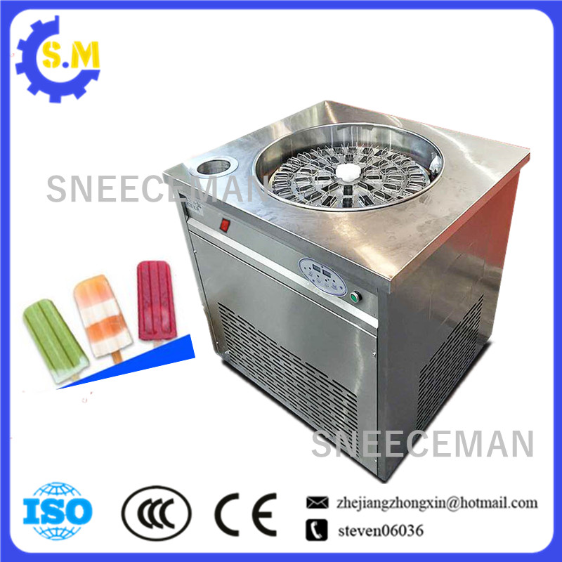 Rotating Popsicle Machine Disc Popsicle Machine Handmade Popsicle Machine Fruit Ice Cream Machine
