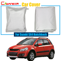 Car Outdoor Cover Anti UV Rain Snow Sun Resistant Protection Cover Waterproof For Suzuki SX4 Hatchback