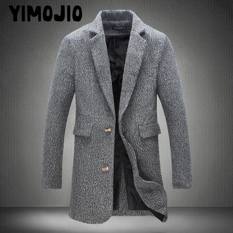 Coat Men Casual Long Jacket Men Trench Coat Streetwear Slim Long Coat Men Solid Male Windbreaker Trenchcoat In Men Style Plus