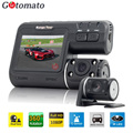 Gotomato Dual Camera DVR i1000 Full HD 1080P Dual Lens Dash Cam Video Recorder 2 Camera Night Vision Car DVR Camcorder i1000s