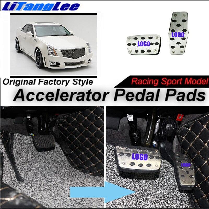 LitangLee housse de protection de pédale d'accélérateur de voiture housse de pédale d'accélérateur de pied modèle de course de Sport pour Cadillac Provoq 2007 ~ 2008 AT