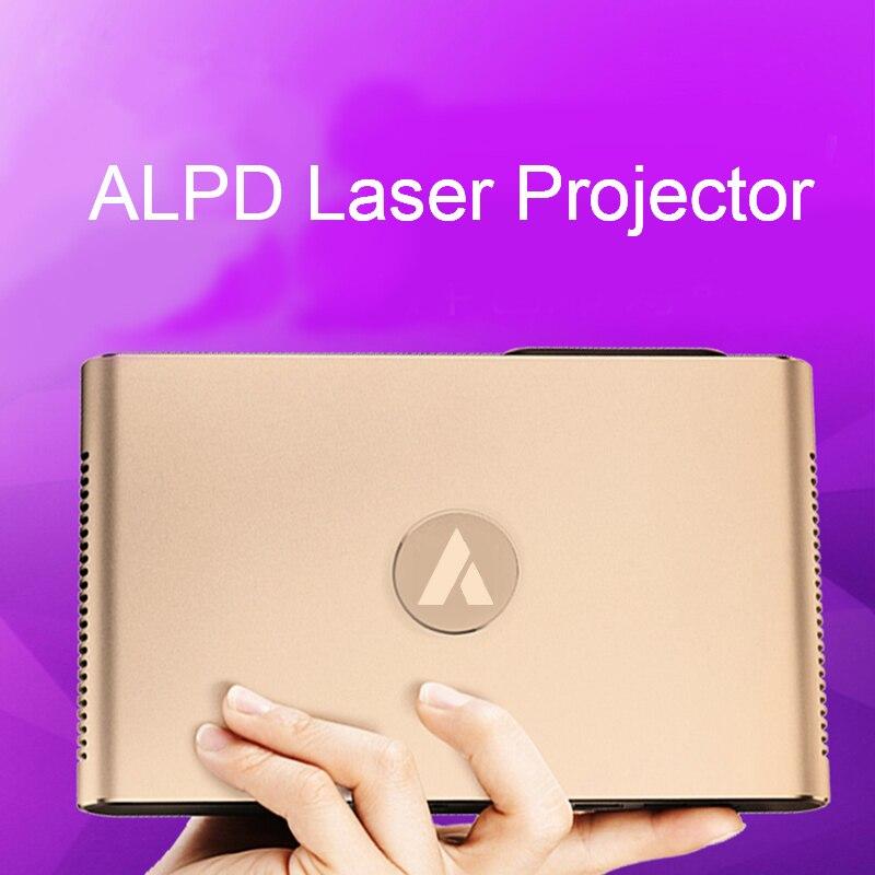 APPOTRONICS S2 Laser Projecteur Android WIFI Bluetooth 3D 3600 Lumens Motorisé Lentille Laser 2g 16g 300 pouce maison beamer