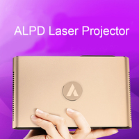 Mini Laser Projector Android WIFI Bluetooth 3D 3600 Lumens Motorized Laser Lens 2G 16G 300 inch home Beamer