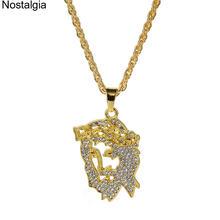 Ностальгия сверкающие бриллианты и подвески мужские золотые