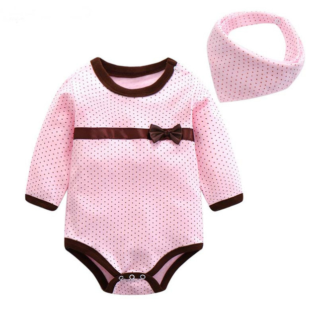 daa56e620 BibiCola Baby Rompers New Spring Baby Girls Clothes Kids Jumpsuit ...