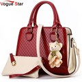 Vogue star mensajero de las mujeres bolsos de marcas famosas mujeres bolsos de diseño de alta calidad bolsa de hombro de la vendimia bolsas yb40-441