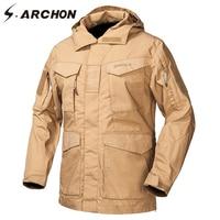 S ARCHON M65 Waterproof Military Field Jackets Men Autumn Windbreaker Tactical Pilot Jacket US Army Flight