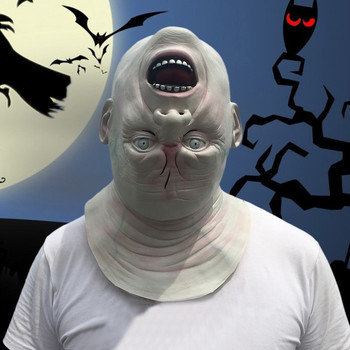 Nouveau Halloween effrayant Latex masque film pleine tête horreur Costume masques Clown masque théâtre Prop mascarade fournitures