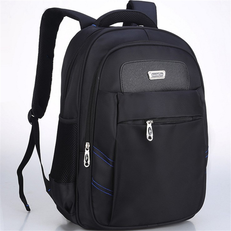 Hot men backpack 15 inch laptop bag travel nylon mens shoulders business double shoulder book bag best student travel bag