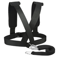 Ruilynn Fitness Exerse Band Resistance Training Equipment Shoulder Strap Weight Bearing Resistance Band