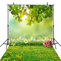 Hot Spring Photography Backdrop Scenic Vinyl Backdrop For Photography Photocall Infantil Baby Background For Photo Studio