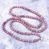 Natural Rhodochrosite Stone Beaded Charm Bracelet/ Necklace 2