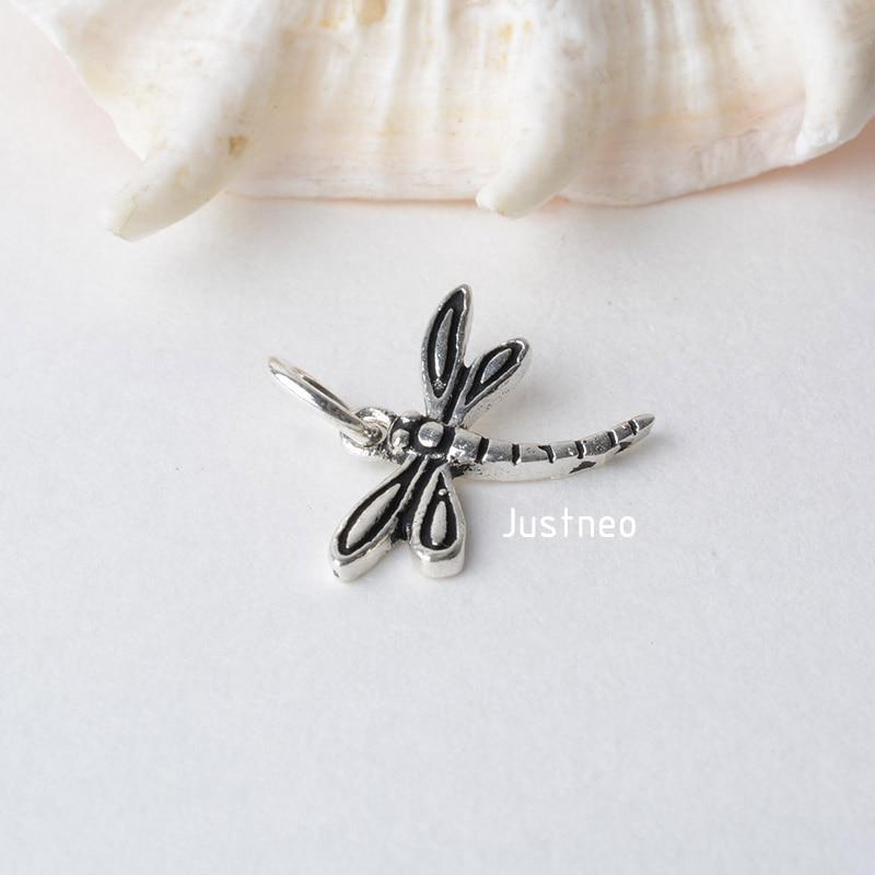 泰银吊坠蜻蜓 (3)