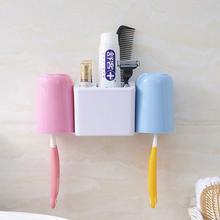 Присоска для зубной щетки держатель набор настенный ванная зубная