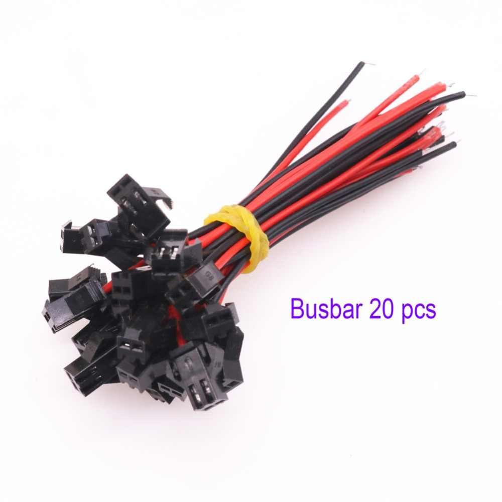 Detail Feedback Questions About 20 Pairs 10cm Long Jst Sm 2pins Plug Terminal Strip Wiring Male Female Wire Connector Quick Block