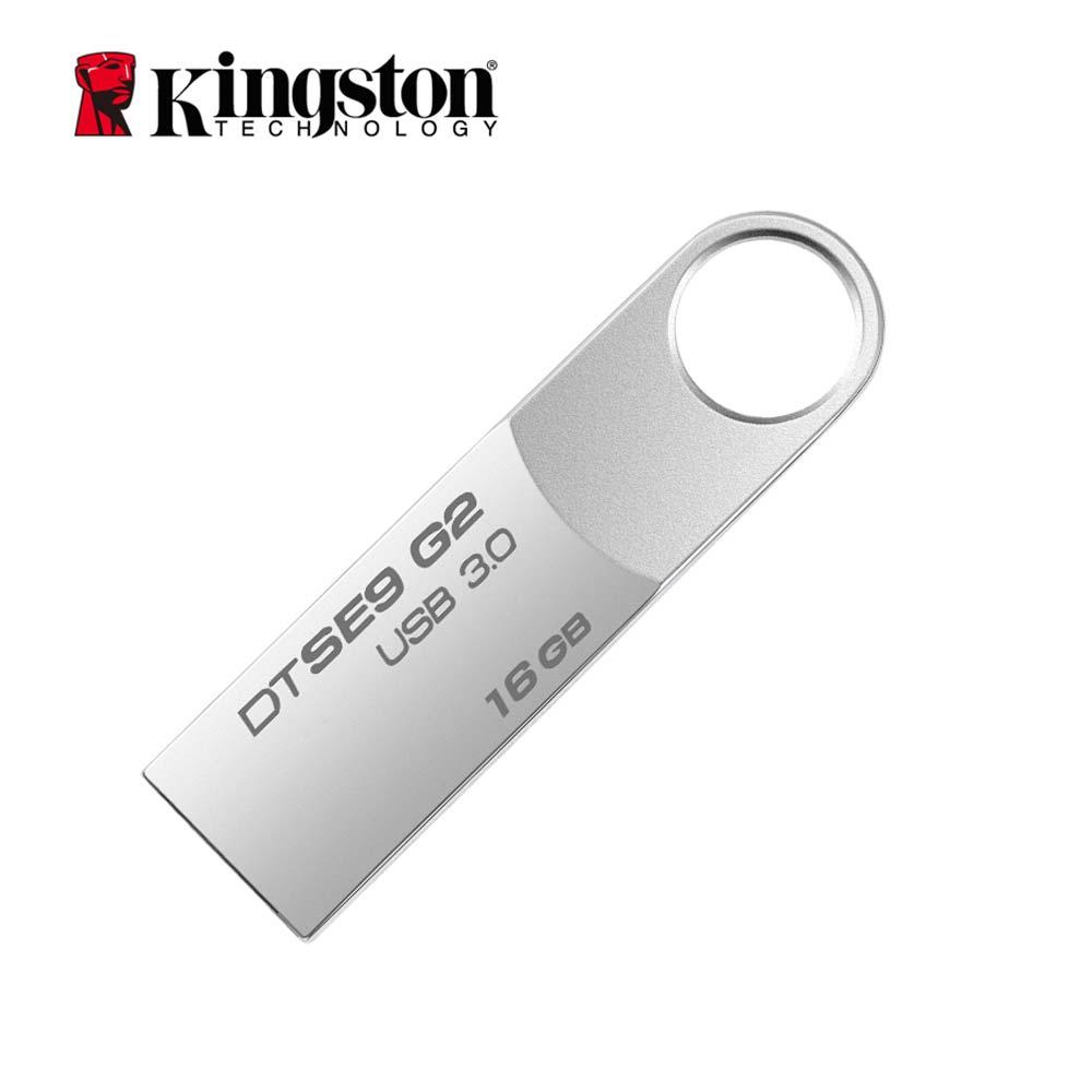 Kingston USB Flash Drive Pendrive Vara DTSE9G2 8GB GB GB 64 32 16GB 128GB usb 3.0 Pen drive Flash de Metal Memory Stick usb Disk cle