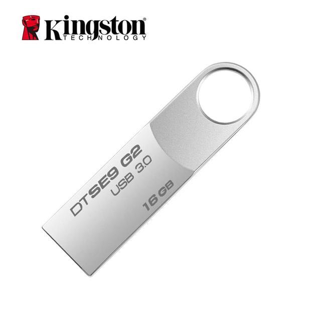Kingston USB Flash Drive Pendrive Stick DTSE9G2 8GB 16GB 32GB 64GB 128GB usb 3.0 Pen Drive Metal Flash Memory Stick cle usb Disk