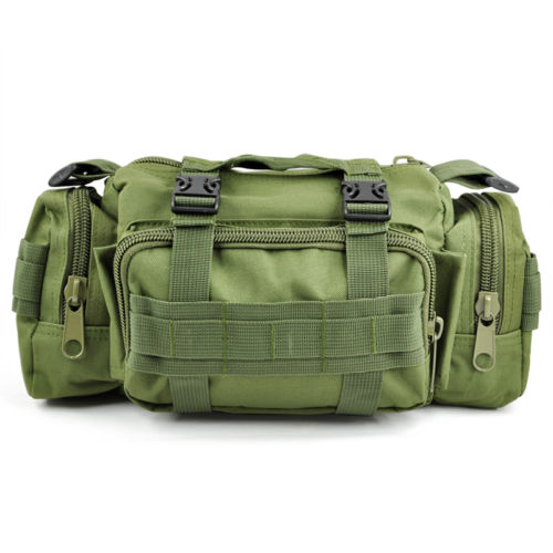 Casual BikeTrekking Military Army Bum Travel Waist Bag