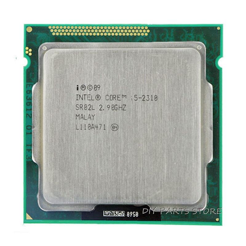 Intel Core i5 2310 i5-2310 SR02K 2.9 GHz/6 mo Socket LGA 1155 processeur d'unité centrale HD 2000 mémoire prise en charge: DDR3-1066, DDR3-1333