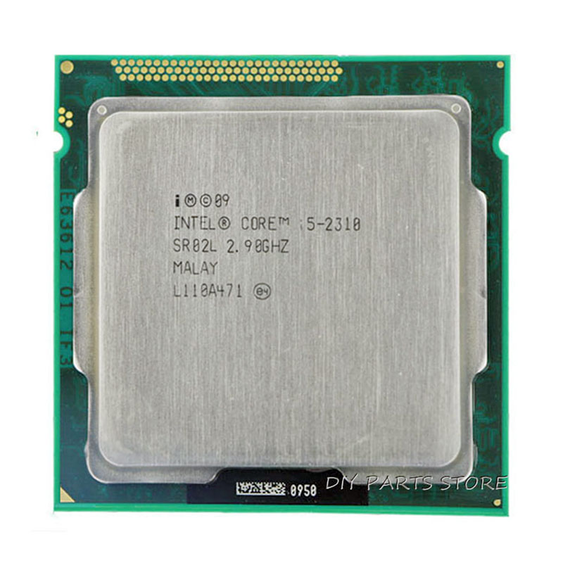 Intel Core i5 2310 i5-2310  SR02K 2.9GHz/ 6MB Socket 1155 CPU Processor  HD 2000 Supported memory: DDR3-1066, DDR3-1333