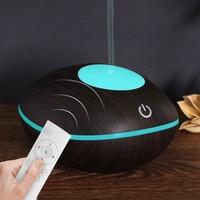 YOHE New Mini Air Humidifier Ultrasonic Aroma Diffuser 200ml Humidificador Aromatherapy Night Light With Remote Control