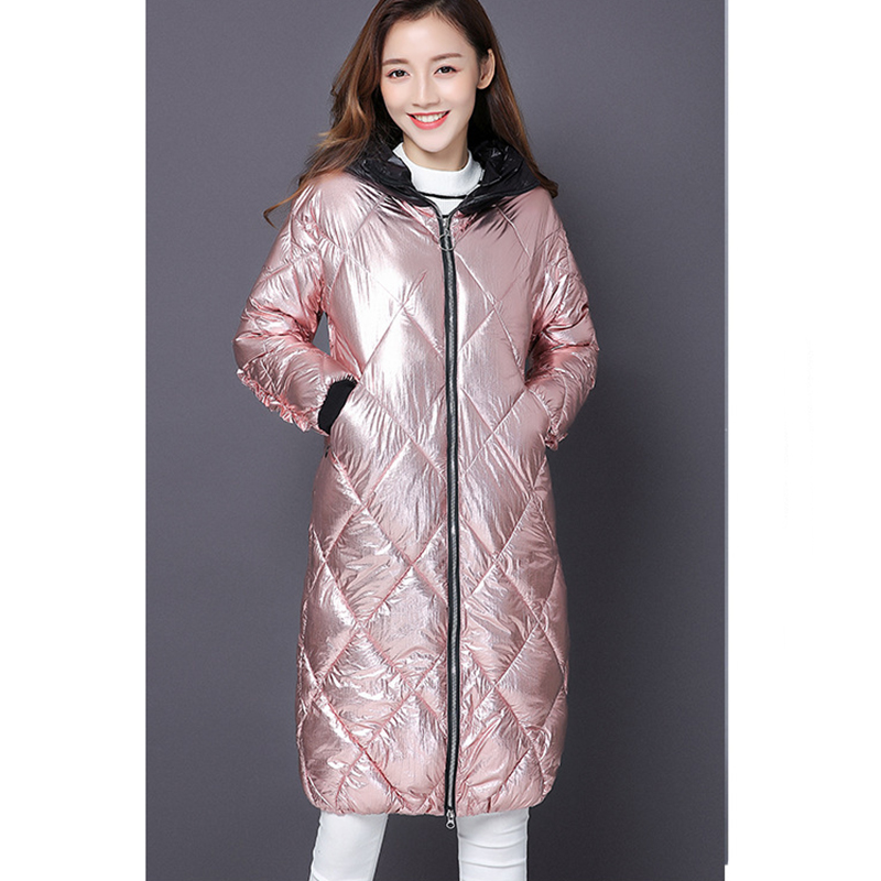light Femmes Outwear À purple Style Pink Lumière Le Chaud Décontractés Vers Bas Long T Capuchon Parkas Ultra Gray yellow Slim shirts Belle Veste Hiver Mode Manteaux Femelle 4w8nTf