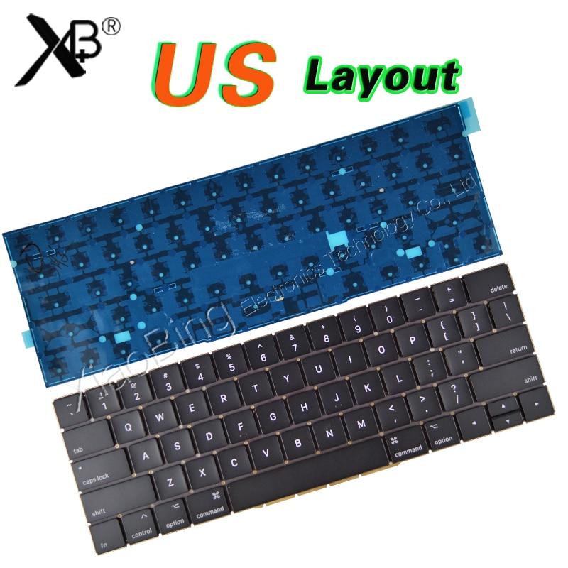 New A1707 Keyboard for Macbook Pro Retina 15'' A1707 Keyboard Blacklight Backlit US USA Keyboard 2016 2017Year original new laptop keyboard replacement for macbook pro 15 15 4 a1707 2016 us keyboard with backlight