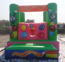 2016 mini jumper font b bouncer b font house inflatable air bouncy combo castle games for