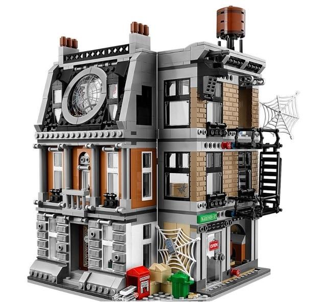 New 76108 Legoings Avengers Super Hero Series Infinity War The Sanctum Sanctorum Showdown Set Model Building Blocks Bricks цена