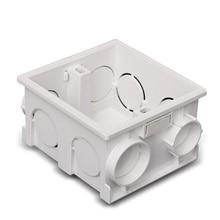 цены High Strength Wall Switch Socket Line Box Type 86 Universal Cassette Bottom Concealed Box  AC 110~250V 10A