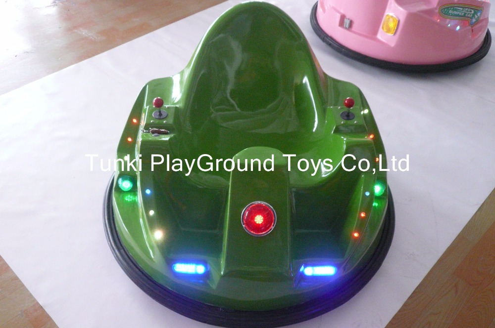 Small Electric Toy Battery Bumper Car Child Cartoon Skynet Net Bumper Car