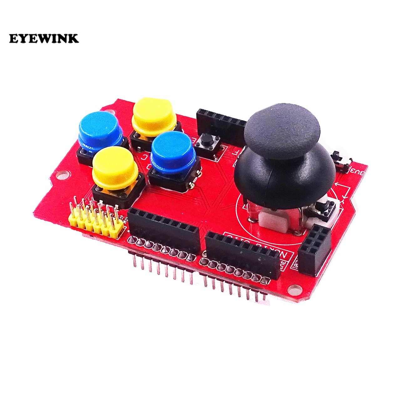 Smart Electronics Integrated Circuit Joystick Shield V12 For Arduino Diy Kit In Production Machinery From Electronic Components Supplies On