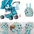 Multifunction Mummy bag Baby Stroller Cooler Thermal Bags for Mummy Hanging Carriage Pram Cart Bottle Nappy Storage Bags