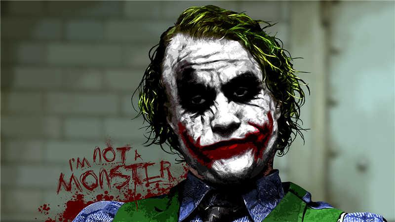 G041 Custom Batman The Joker DC Movie Character Art Poster Decoration